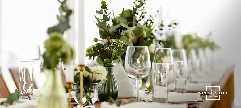Creative and original floral centerpieces - Verdissimo