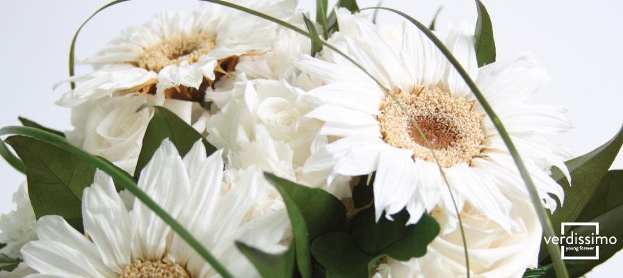 Girasoles en los ramos para novias - Verdissimo