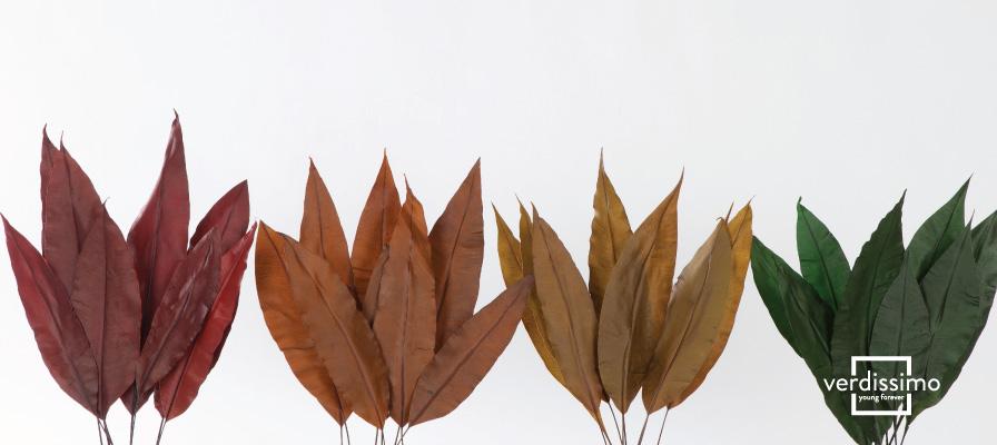 Hojas tropicales preservadas de colores ¿Cuál prefieres?