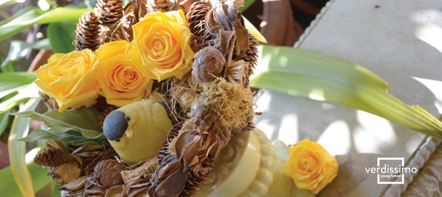 Novedades y complementos originales en arte floral profesional - Verdissimo