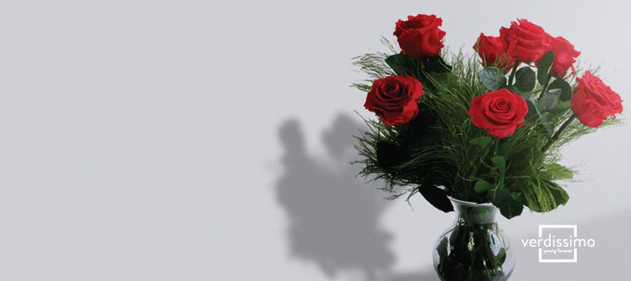 Rosas preservadas de Verdissimo