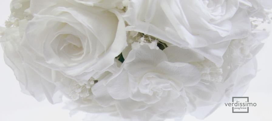 Flores preservadas para eventos - Verdissimo