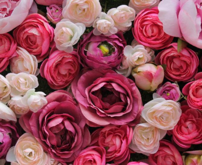 Decoración con rosas - Verdissimo