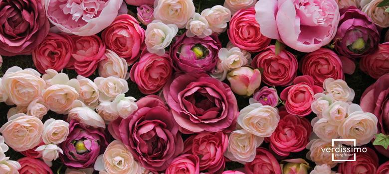 decoracion con rosas - verdissimo