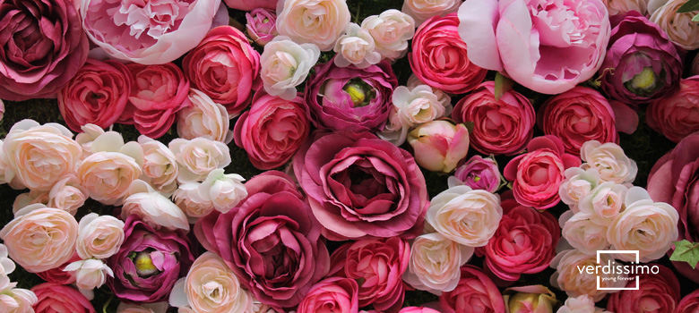 decorating with roses - verdissimo