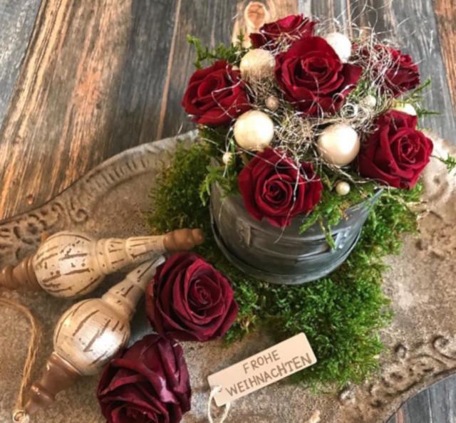 decoracion mesa navidad - verdissimo