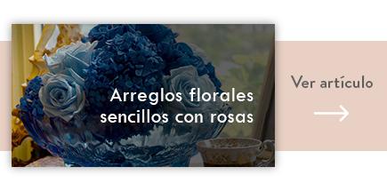 cta arreglos florales sencillos con rosas - verdissimo