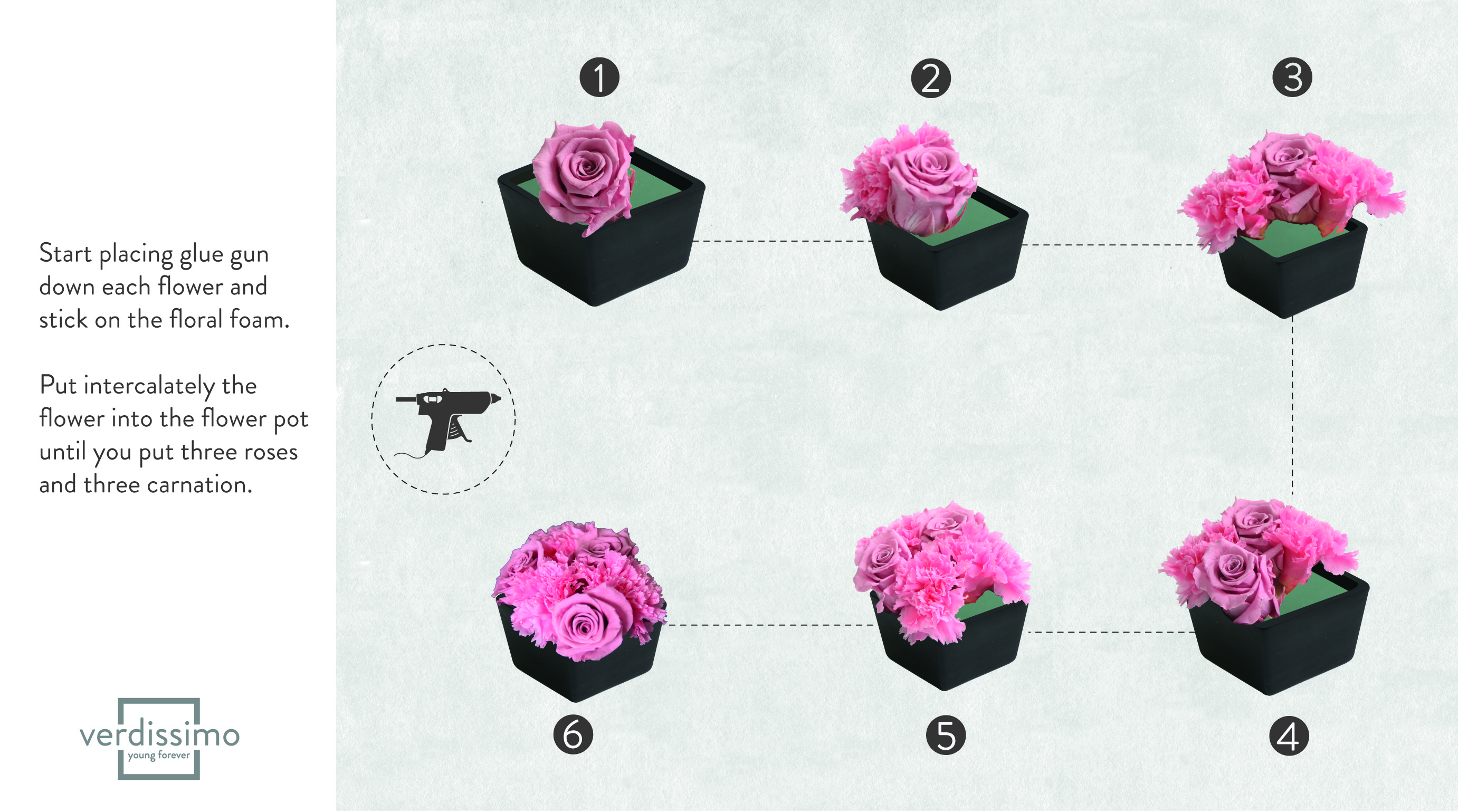 Do it yourself! - Create a floral himmeli to decorate your home