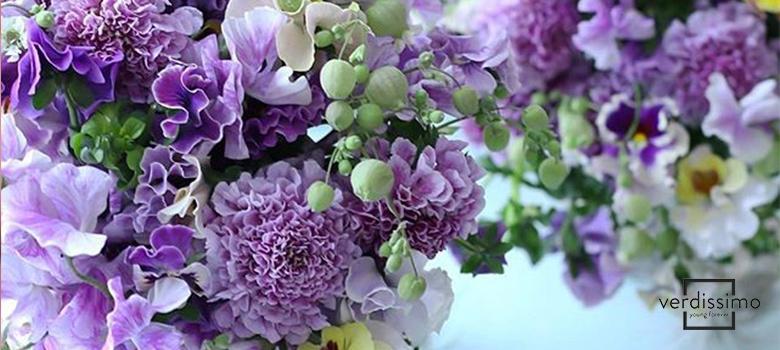 arte floral japones mallow - verdissimo