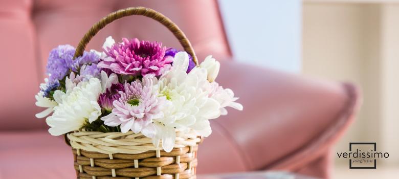 cestas de flores - verdissimo