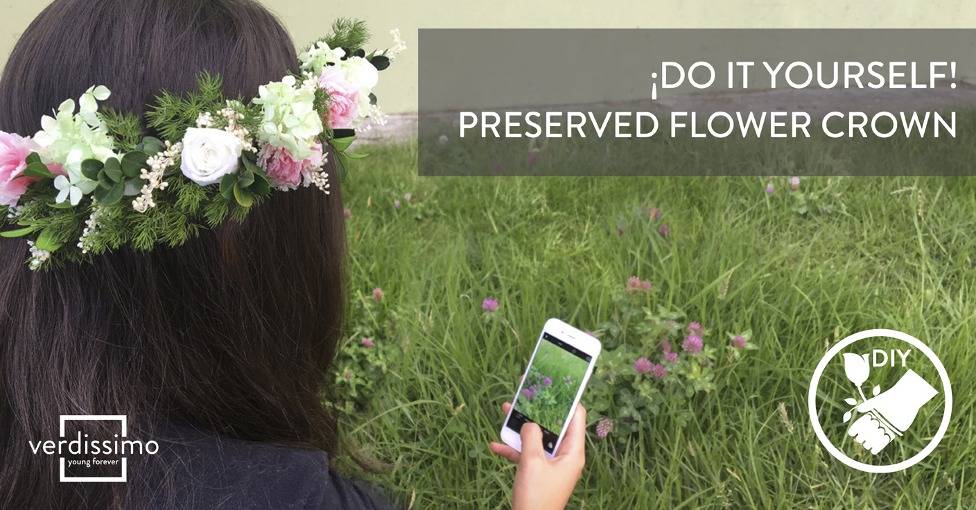 Do it yourself! – Preserved Flower Crown - Verdissimo