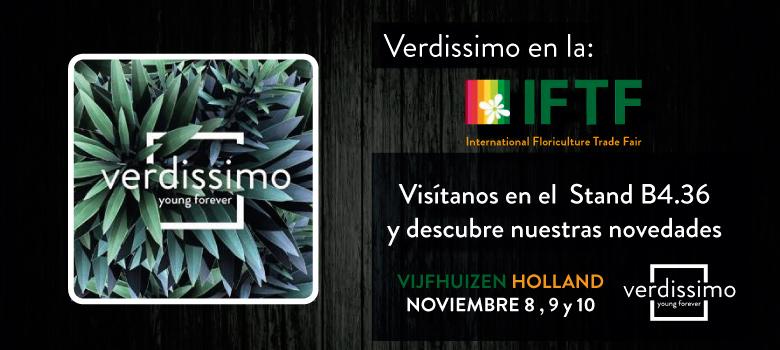 Verdissimo volvera a participar en la IFTF de Holanda - Verdissimo