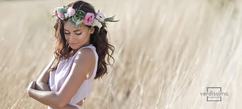 Naturaleza preservada: coronas, tocados y complementos - Verdissimo