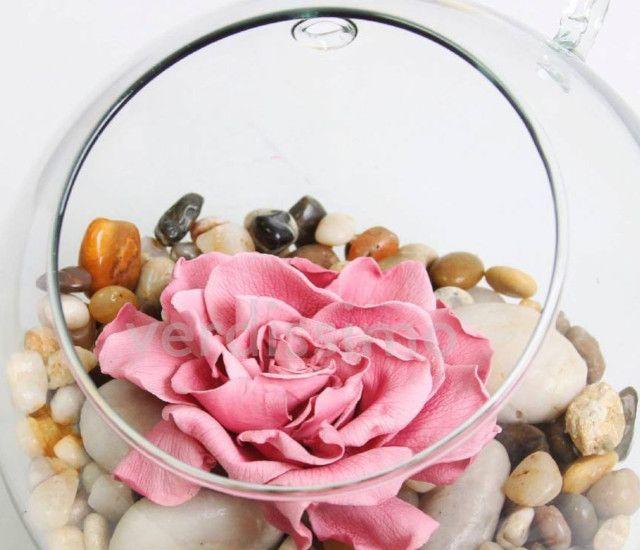 rosas y piedras - verdissimo