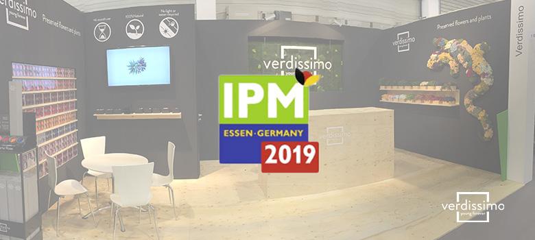 verdissimo participara en la feria IPM 2019 de essen - verdissimo