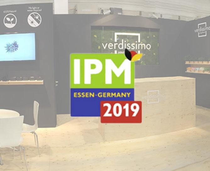 Verdissimo will participate in the 2019 IPM Fair at Essen - Verdissimo