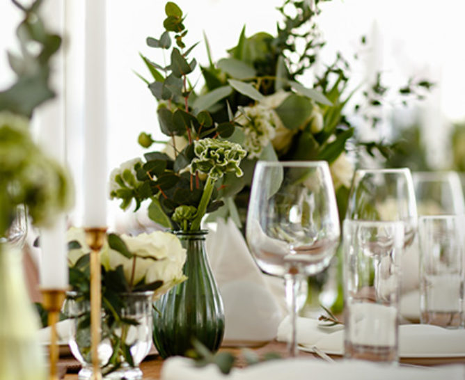 Centres de table fleuris, créatifs et originaux - Verdissimo