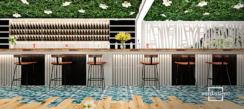 fleurs et plantes pour decorer les restaurants - verdissimo
