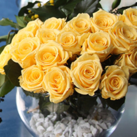 rosas amarillas - verdissimo
