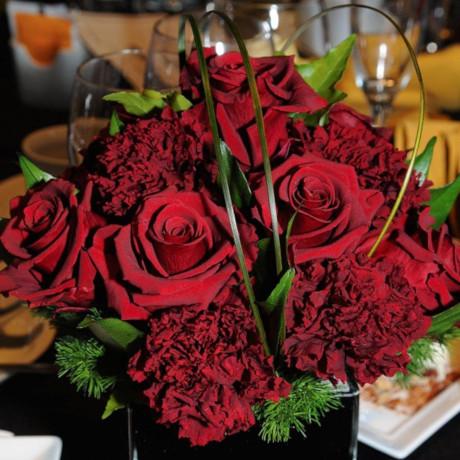 rosas rojas monocolor - verdissimo