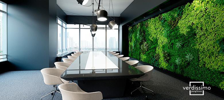 decoration pour un bureau - verdissimo