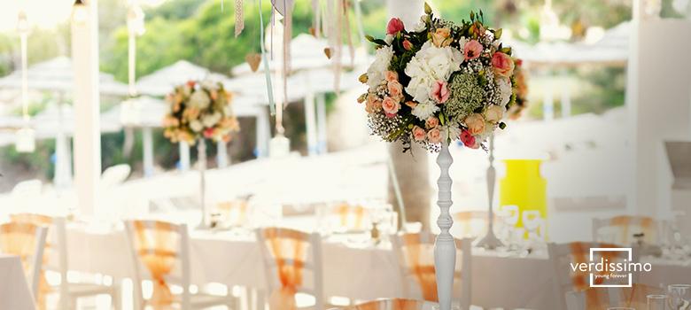 decoracion para comuniones con flores preservadas - verdissimo