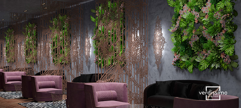 restaurant decoration trends - verdissimo