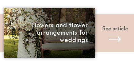 cta flower arrangements for weddings - verdissimo