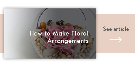 cta how to make floral arrangements - verdissimo