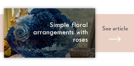 cta simple floral arrangements with roses - verdissimo