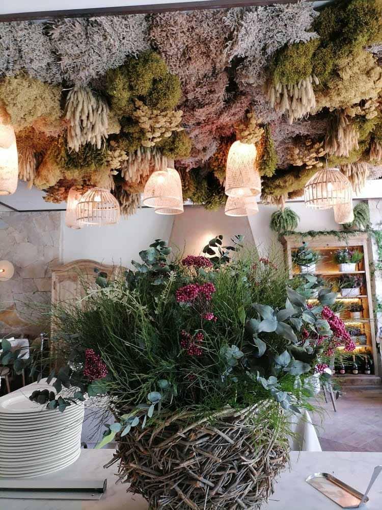 Decoración de techos con musgo - Verdissimo