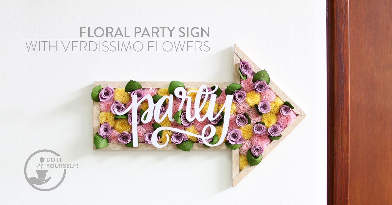 diy 2 floral arrangements - verdissimo