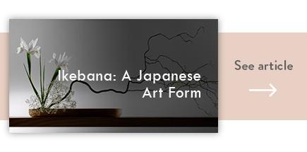 cta ikebana japanese art form - verdissimo