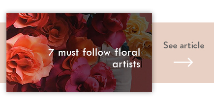 cta must follow floral artists - verdissimo