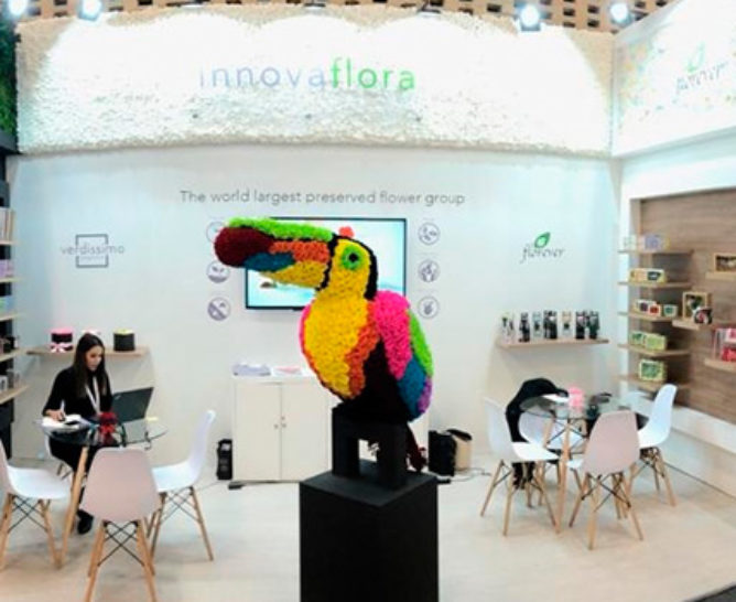 Verdissimo at the Proflora Fair 2019 - Verdissimo