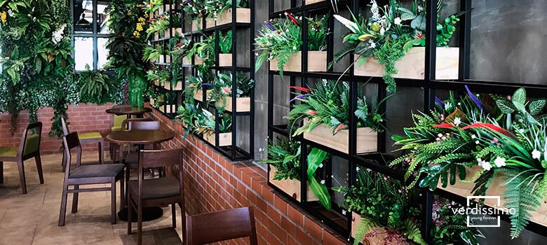 la decoration de locaux commerciaux - verdissimo