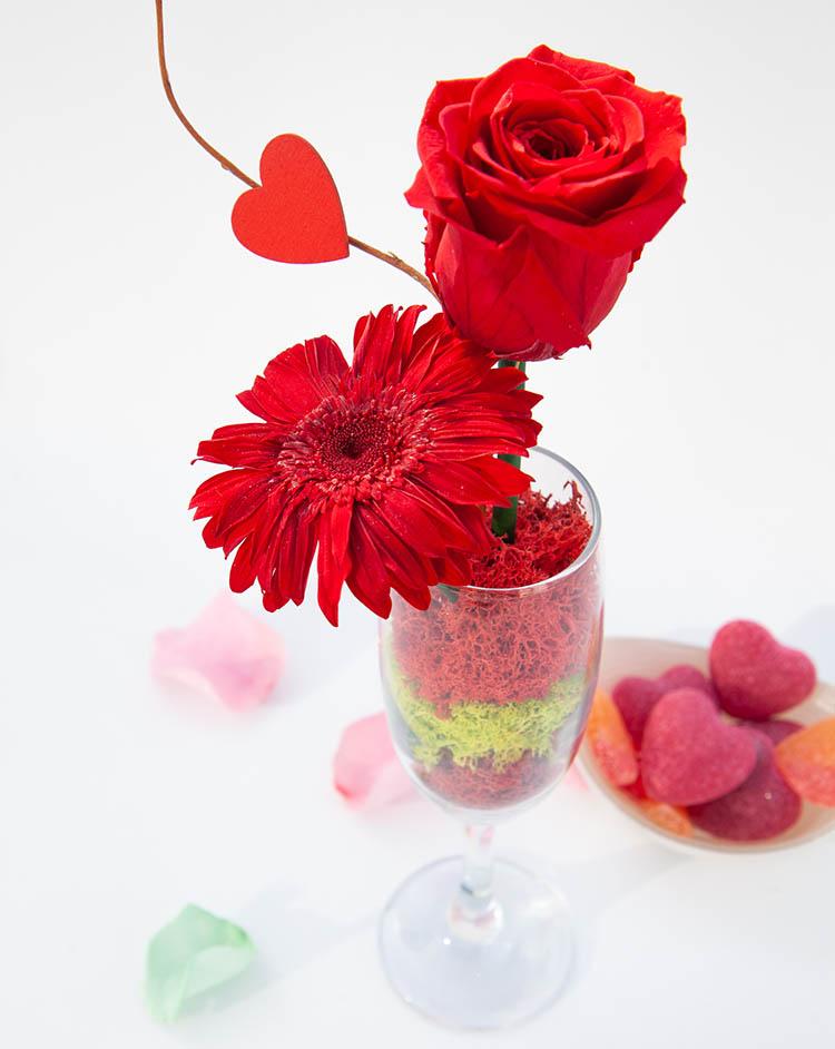 Arreglo floral Monocolor - Verdissimo