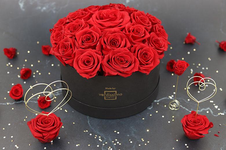 Cupula de Rosas rojas - Verdissimo