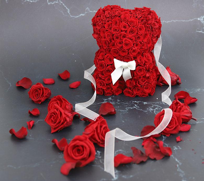 Oso rosas rojas - Verdissimo