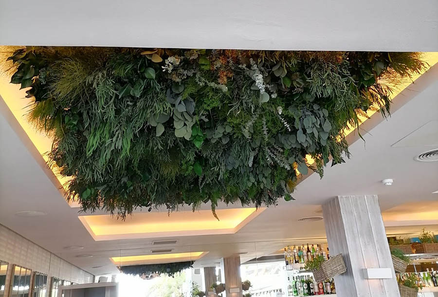 Decoration with lamps with Greens - Verdissimo