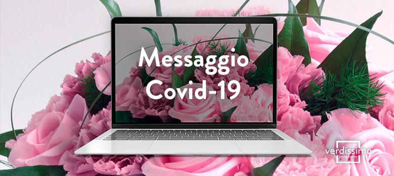 messaggio covid19 - verdissimo