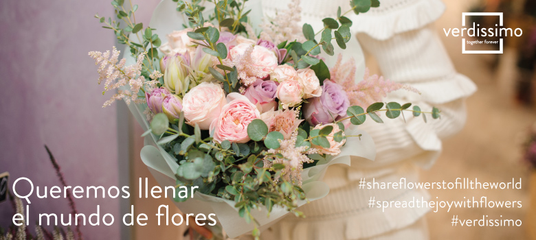queremos llenar el mundo de flores - verdissimo