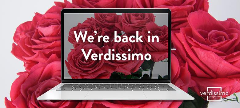 were back in verdissimo - verdissimo