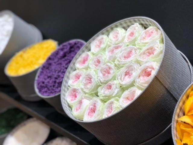 hatbox con flores que te enamoraran img2 - verdissimo