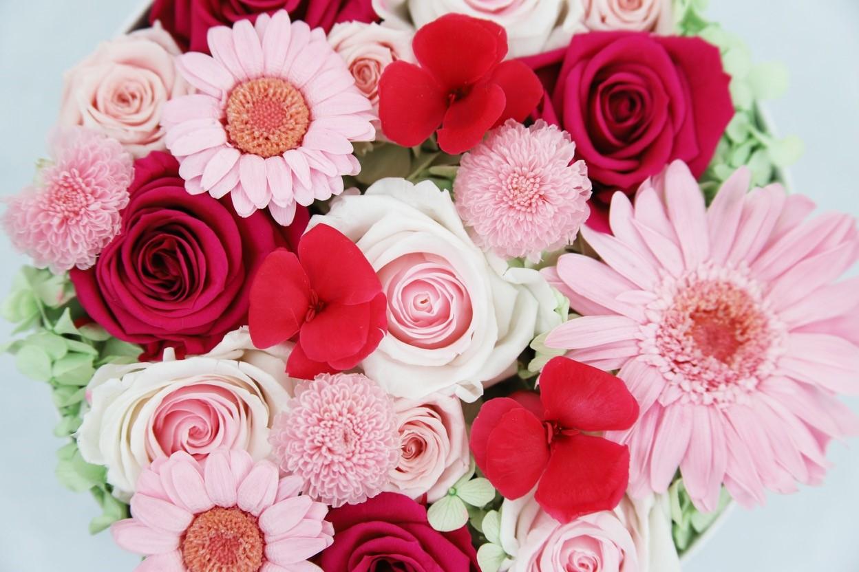 hatbox con flores que te enamoraran img4 - verdissimo
