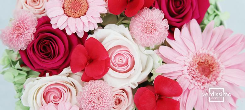 hatbox con flores que te enamoraran - verdissimo