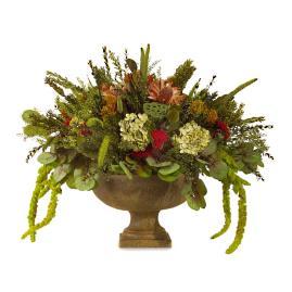 Centro de mesa flores preservada y artificial - Verdissimo