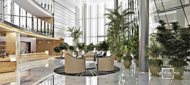 La décoration d'hôtels – tendances - Verdissimo