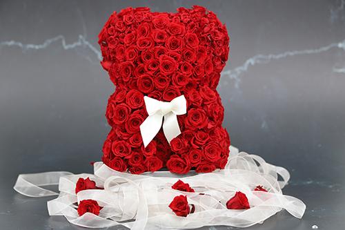 Oso de San Valentín con Rosas - Verdissimo