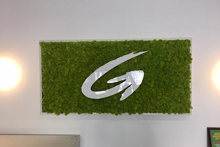 Decoration Logo Moss - Christian Platzner
